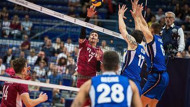 Włochy - Łotwa, siatkówka, mistrzostwa Europy