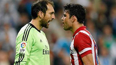 Diego Costa  i Diego Lopez