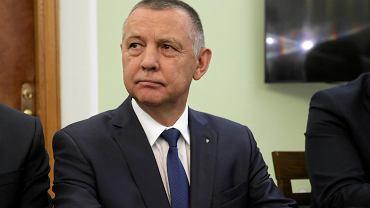 Marian Banaś przed komisją sejmową