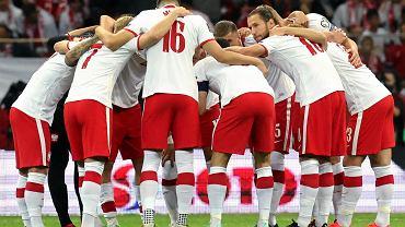 Polscy piłkarze podczas meczu z Anglią