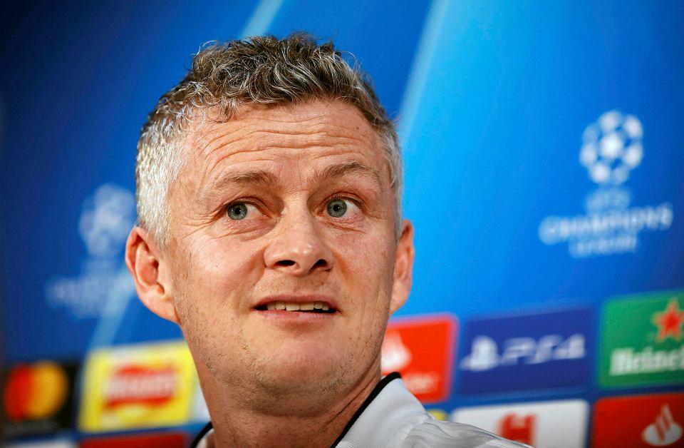 Trener Manchesteru United Ole Gunnar Solskjaer