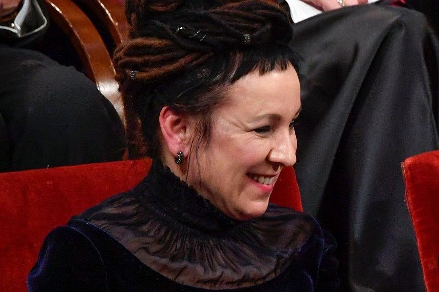 Olga Tokarczuk odebrała literackiego Nobla