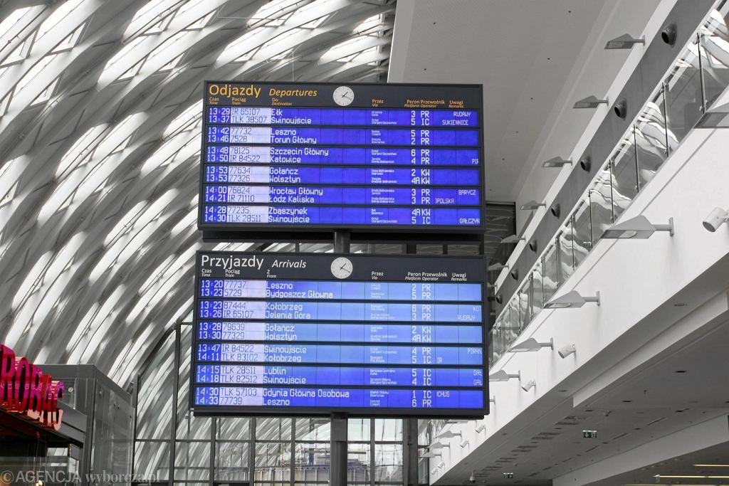 PKP Intercity prezentuje nowy rozkład