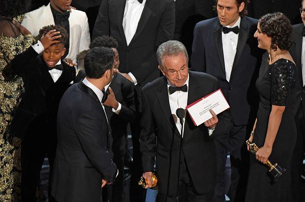 Oscary 2017 - wpadka przy przyznaniu nagrody dla najlepszego filmu