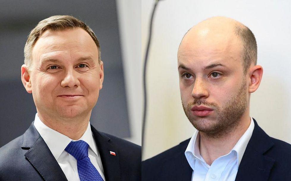 Andrzej Duda i Jan Śpiewak