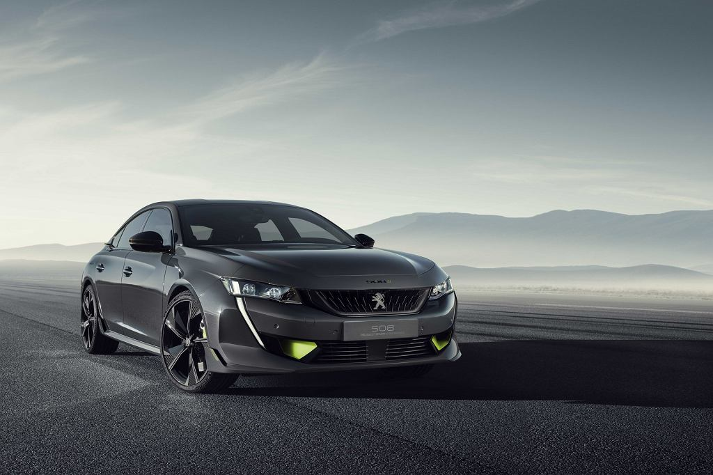 Peugeot 508 Sport Engineering Concept