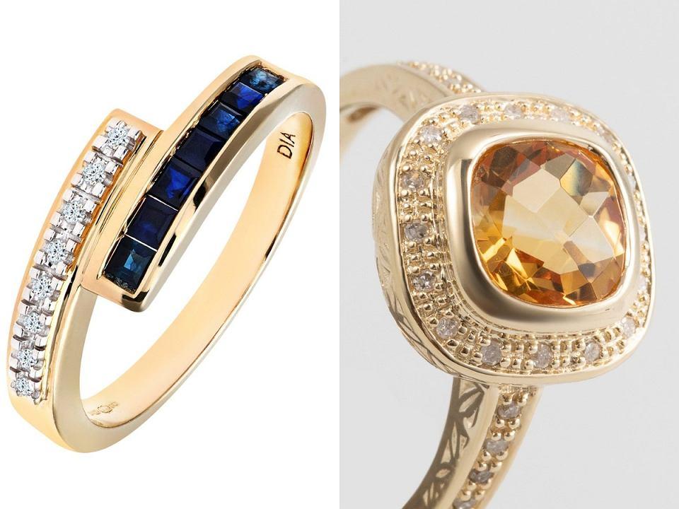 pierścionki z diamentami