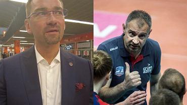 Sebastian Świderski i Nikola Grbić