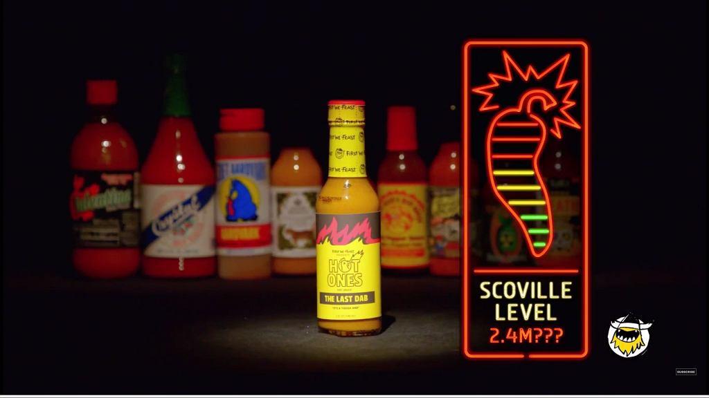 Sos 'The Last Dab' o mocy 2,4 mln w skali Scoville'a powstał na bazie papryczek 'Pepper X'