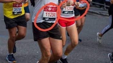 Maraton londyński, autor Dawid Słomian