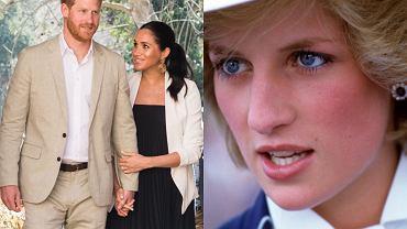 Książę Harry, Meghan Markle, księżna Diana