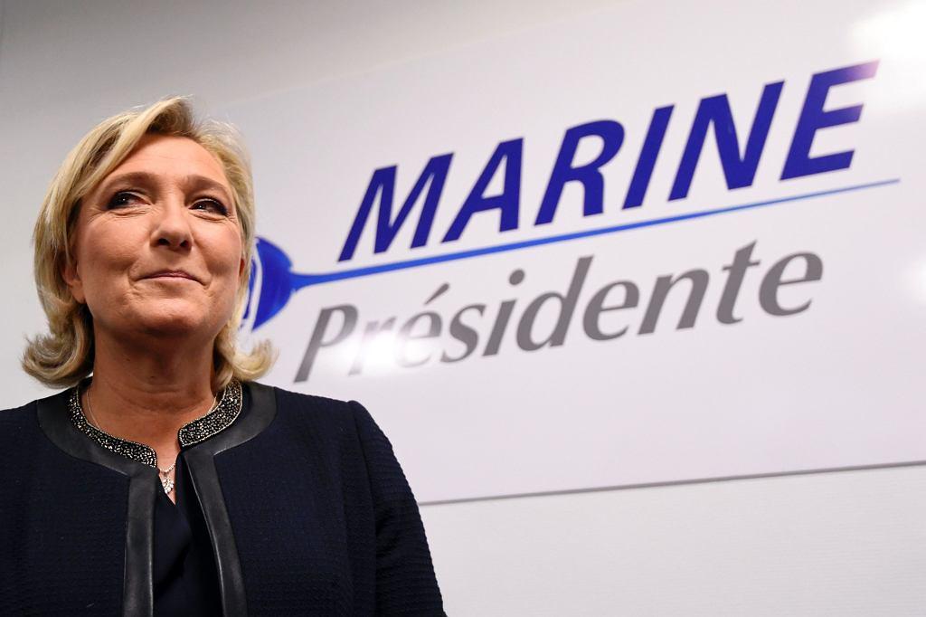 Marine Le Pen jest mocną kandydatką w tegorocznych wyborach prezydenckich we Francji (fot. Eastnews)