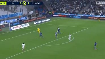 Gol Arkadiusza Milika w meczu z Lorient