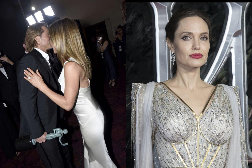 Pitt, Jolie, Aniston
