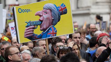 Sobotnia manifestacja zwolenników drugiego referendum zgromadziła w Londynie blisko milion osób