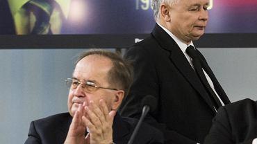 Tadeusz Rydzyk podczas spotkania w Sejmie.