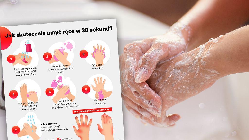 GIS: Koronawirus jest podatny na działanie mydła