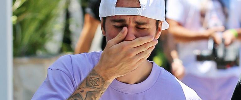 Justin Bieber znów promuje płytę prywatą w mediach. Odniósł się do swoich zapłakanych zdjęć