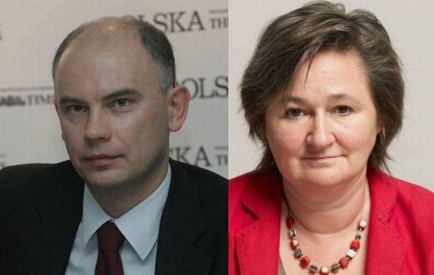 Paweł Fąfara i prof. Magdalena Środa