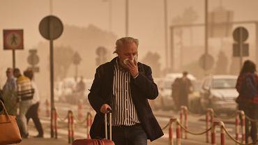 Kalima - czyli burza pyłu znad Sahary - na Wyspach Kanaryjskich