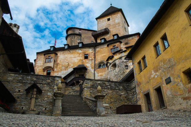 Słowacja, zamek Orawski