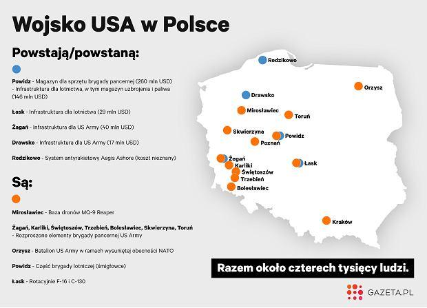 Wojsko USA w Polsce