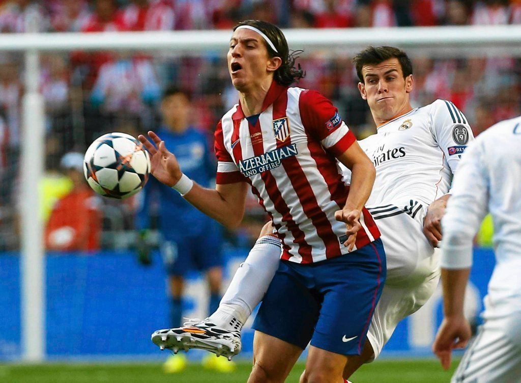 Filipe Luis i Gareth Bale