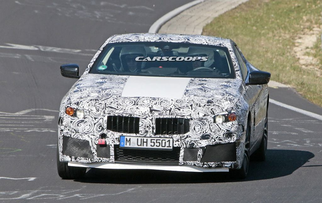 Prototyp BMW M8 Coupe