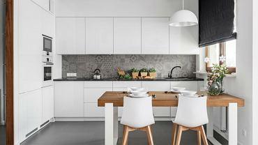 Białe AGD w kuchni