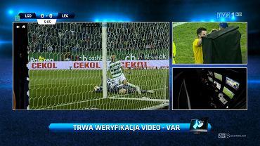 Screen z meczu Lechia Gdańsk - Legia Warszawa