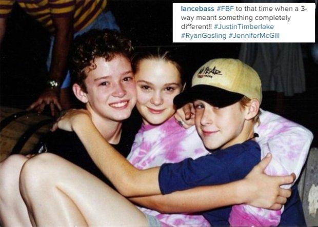 Justin Timberlake, Jennifer McGill, Ryan Gosling