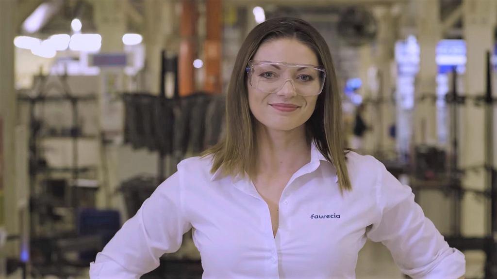 Karolina Rduch, kierowniczka BHP w fabryce Faurecia