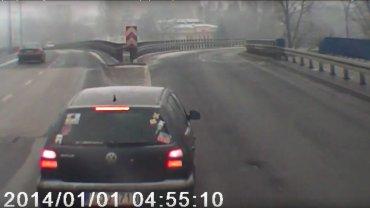 """Kierowca ciężarówki """"wykiwał"""" pirata drogowego"""