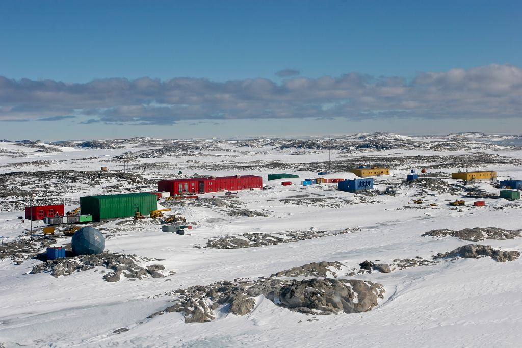 Stacja Casey na Antarktydzie.