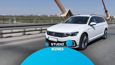 VW Passat GTE w Studiu Biznes