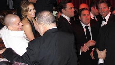 Jennifer Lopez, Casper Smart, Leonardo DiCaprio, Jonah Hill, Bradley Cooper.