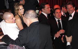 Jennifer Lopez, Casper Smart, Leonardo DiCaprio, Jonah Hill, Bradley Cooper