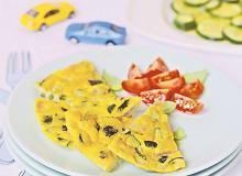 Omlet z pieczoną cukinią - ugotuj