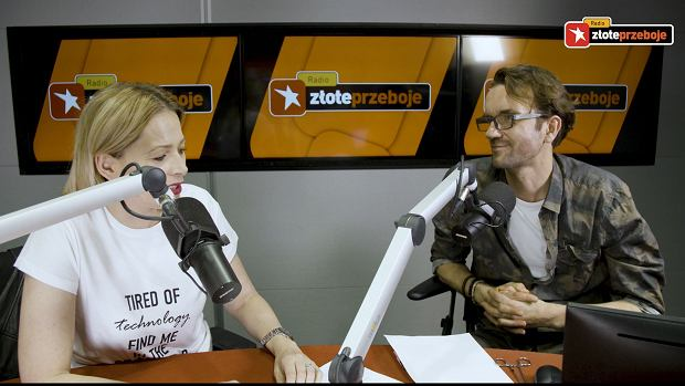 Odeta Moro i Tomasz Kot