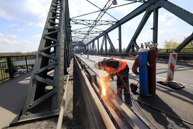 Zdjęcie numer 7 w galerii - Zaczęła się rozbudowa mostu im. Piłsudskiego za 123 mln zł, potrwa 20 miesięcy [GALERIA]