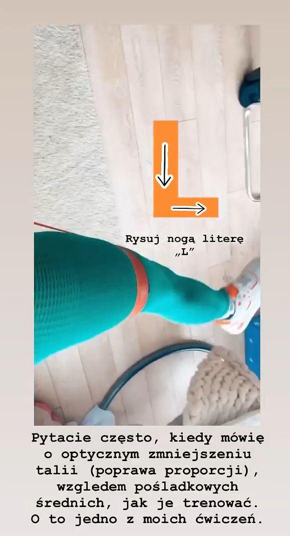 Sylwia Szostak - trening na talię