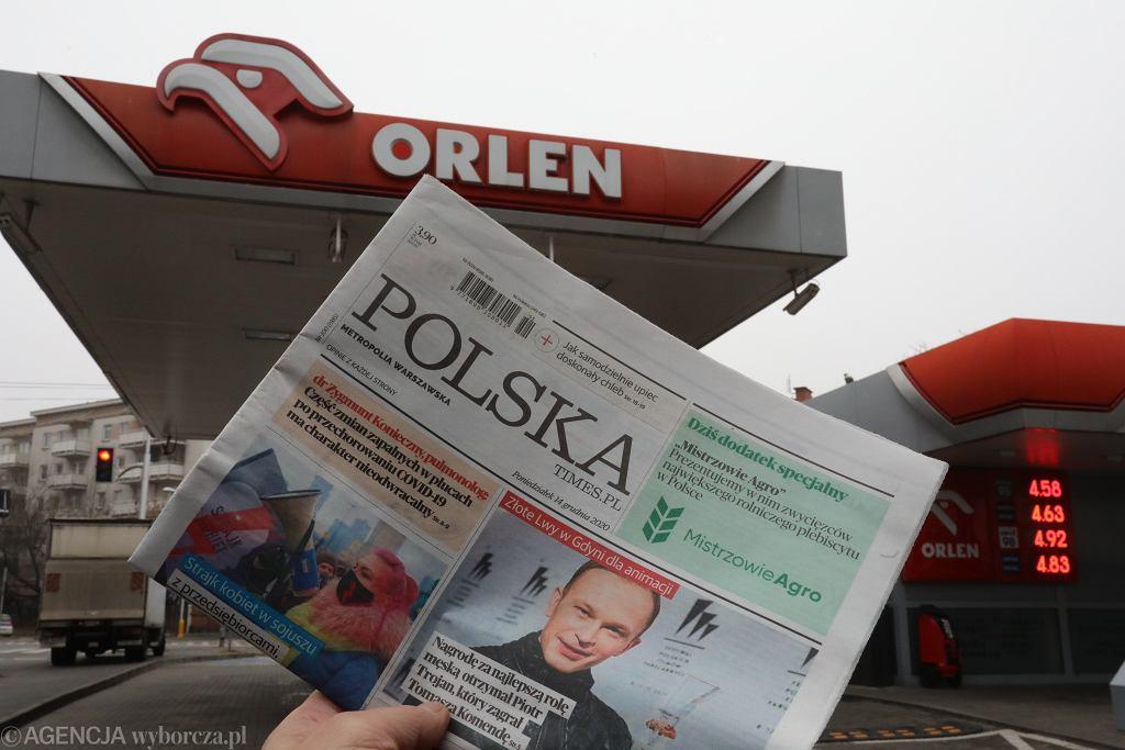 Sąd wstrzymał decyzję o przejęciu Polska Press przez Orlen