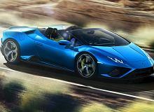 Nowe Lamborghini Huracan Evo RWD Spyder. O 30 procent więcej poślizgów
