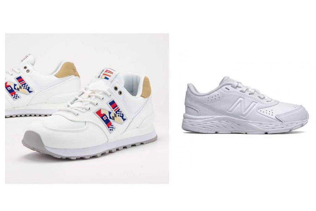 Wyprzedaż białych sneakersów
