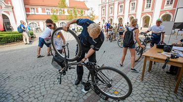 Za unijne pieniądze policja będzie m.in. znakować rowery
