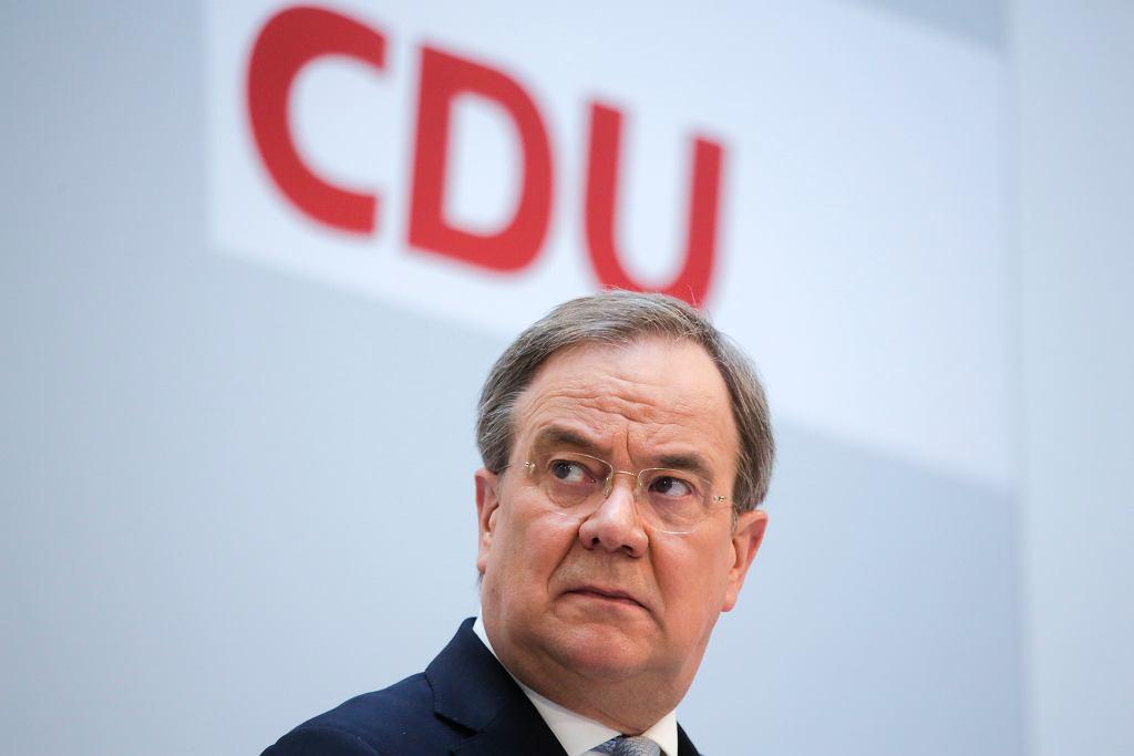 Armin Laschet zwyciężył walkę na kandydata do objęcia stanowiska kanclerza Niemiec