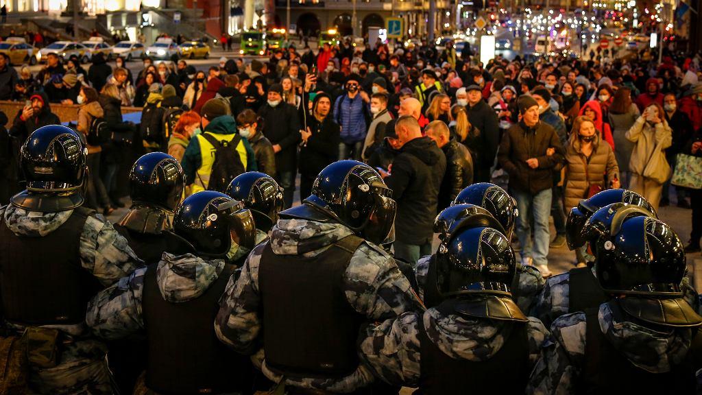 Manifestacja w Moskwie