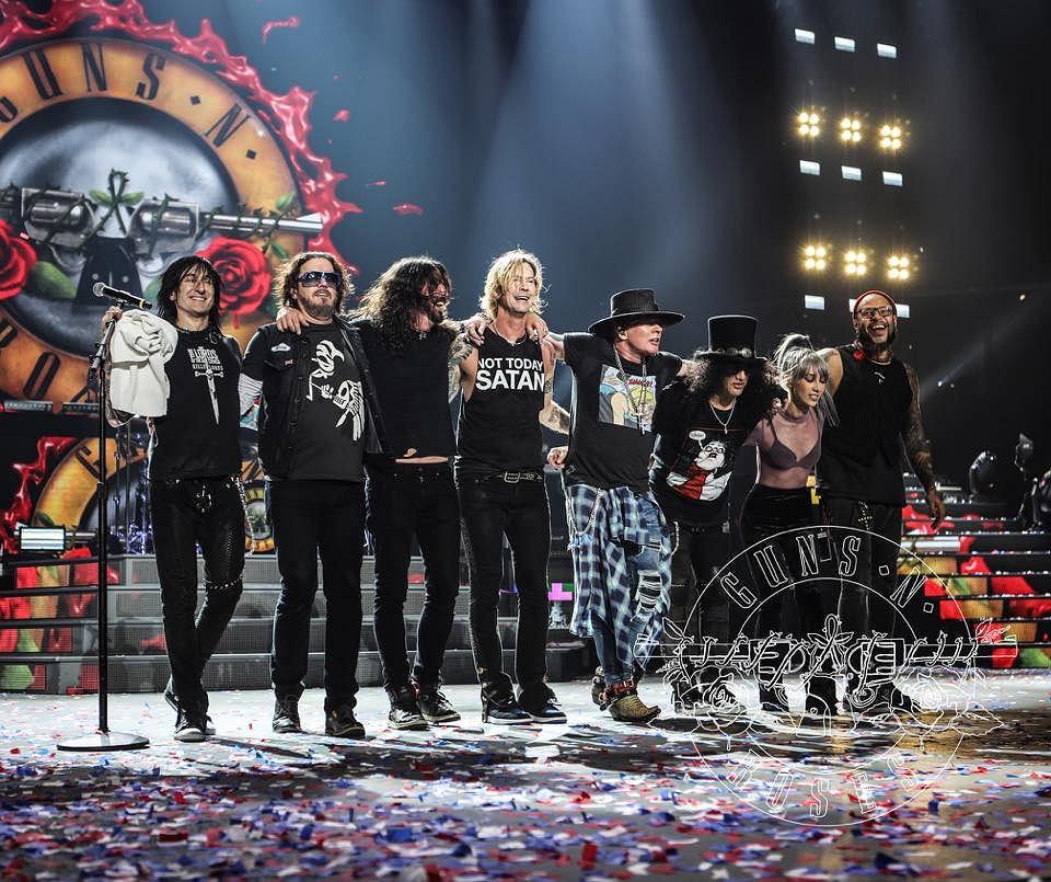 Guns N' Roses i Dave Grohl