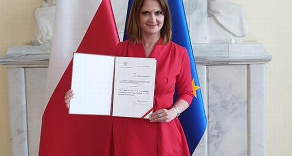 Nowa minister w KPRM. Anna Schmidt-Rodziewicz zastąpiła Annę Marię Anders