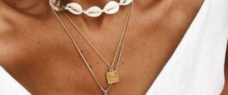 Biżuteria z muszelkami. Naszyjniki, bransoletki i kolczyki na lato